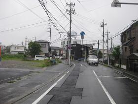 千葉市街から→K社まであと約80m